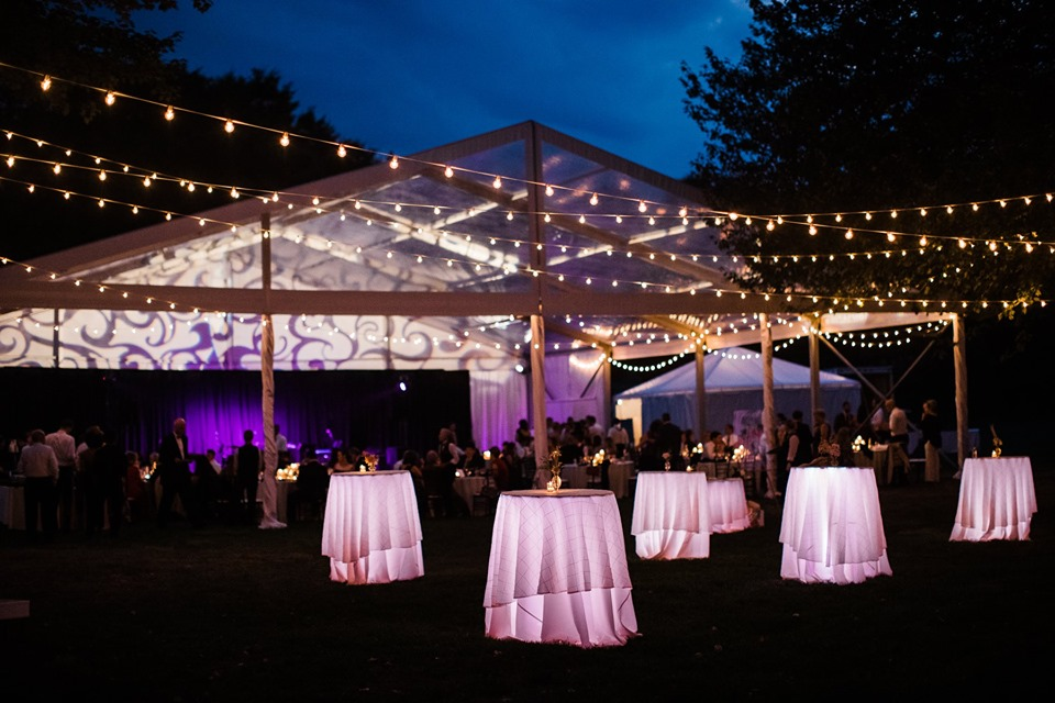 A Wedding Reception on the Golf Course